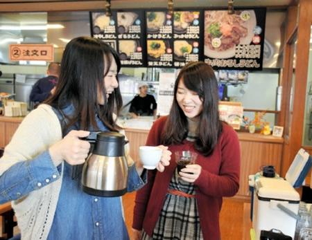 うどん県でもコーヒー