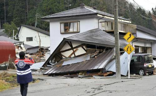 震度6弱の長野県