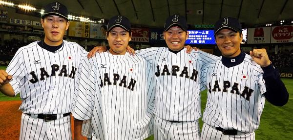 日本が快挙!初の無安打無得点!則本5回完全から西→牧田→西野s