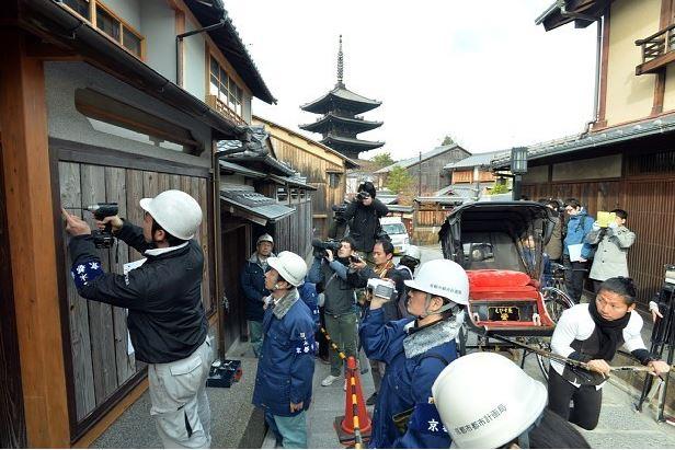 京都市:景観保護で行政代執行