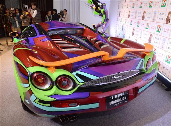 エヴァ仕様スポーツカー、購入申し込みは588件 セブンイレブン